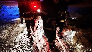 AKköprü Mahallesinde Korkutan Yangın