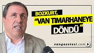 """Bozkurt, """"Memleket tımarhaneye döndü! """" - vanhaber - van gazetesi"""