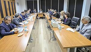 Büyükşehir Belediyesinden VASKİ'ye Ziyaret: Toplantı 3 Saat Sürdü