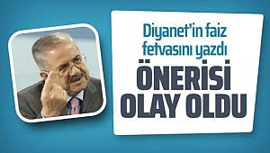 Diyanet'in faiz fetvasıyla ilgili Taha Akyol'un yazısı olay oldu