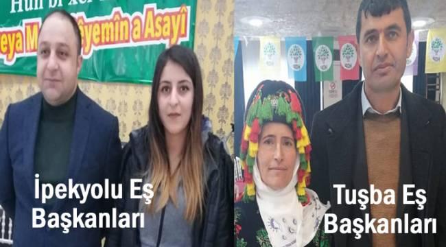 HDP İpekyolu ve Tuşba'nın yeni yönetimi belli oldu