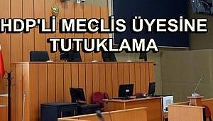 HDP'li Meclis Üyesine Tutuklama