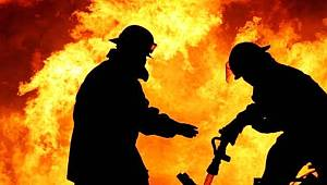 Kazan Dairesinde Korkutan Yangın