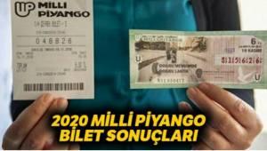 Milli Piyango Van'a Mı Vurdu. 2020 Tam Liste