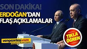 SON DAKİKA! Cumhurbaşkanı Erdoğan'dan Flaş Açıklamalar...