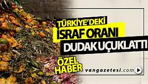Türkiye'deki İsraf Oranı Dudak Uçuklattı