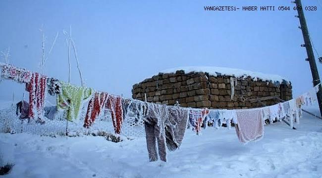 Türkiye'nin En Soğuk İlçesi Çaldıran Oldu
