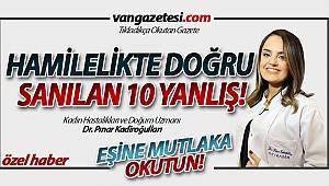 VAN'DA BUNU MUTLAKA EŞİNİZE OKUTUN! - HAMİLELİKTE DOĞRU BİLDİĞİMİZ 10 YANLIŞ