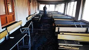 Van'da Kuran Kursunda Yangın Meydana Geldi