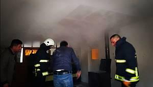 Van'ın Edremit İlçesinde Ev Yangını