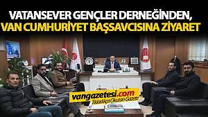Vatansever Gençler Derneğinden, Van Cumhuriyet Başsavcısı'na Ziyaret