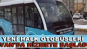 Yeni Halk Otobüsleri Yollara Çıktı