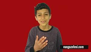13 Yaşındaki Vanlı Çocuktan Yürekleri Parçalayan Ses - Tıkla Dinle - Van haber