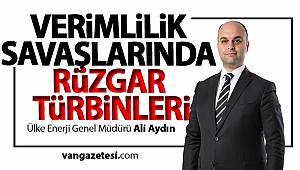 """Ali Aydın""""Enerji Üretimini Yaklaşık %20 - %25 Seviyesinde Artırabiliyor"""" -van haber"""