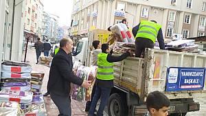 Belediyeden 200 battaniye 50 adet ısıtıcı gönderildi - Van haber - Van haberleri