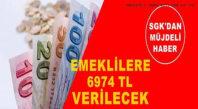 SGK'dan güzel haber: SSKSGK'dan güzel haber: SSK ve Bağkur'lu emeklilere 6974 TL verilecek! ve Bağkur'lu emeklilere 6974 TL verilecek!