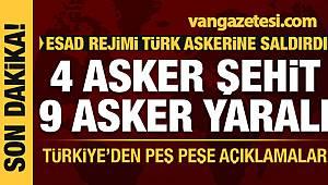 Son Dakika: Esad rejimi Türkiye askerine saldırdı! Çok sayıda şehit ve yaralı asker var
