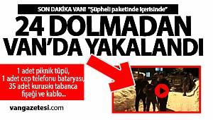 Son Dakika! Van'da Şüpheli Paketin İçinden Çıkanlar Şaşırttı -vanhaber