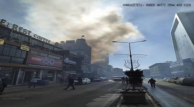 Son Dakika! Van'da Bir İş Yerinde Yangın - Van Haber
