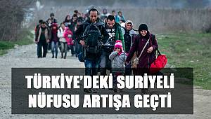 Türkiye'de 3 milyon 585 bin 209 suriyeli yaşıyor ve daha çok arttı
