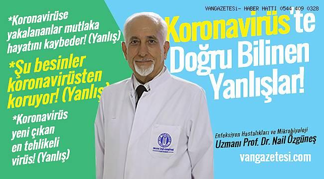 Uzman Doktor Açıkladı - Van'da Koronavirüs'te Doğru Bilinen Yanlışlar!