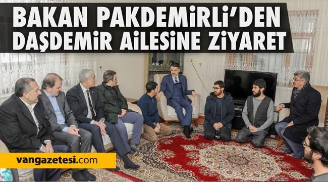 Van'a gelen Tarım ve Orhan Bakanı Bekir Pakdemirli'den son dakika!