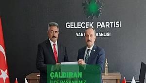 Ak Parti'li Şahin Gelecek Partisinin Çaldıran İlçe Teşkilat Başkanı Oldu