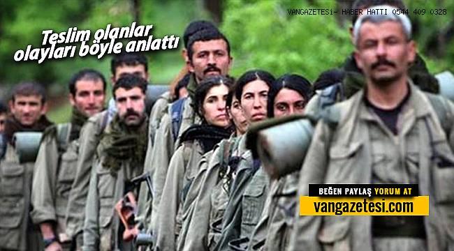 Koronavirüs PKK'ya sıçradı - Teslim olan teröristlerin ifadeleri böyle kaydedildi
