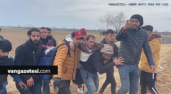 Mültecilere Yunanistan Askerleri Ateş Açtı. vanhaber