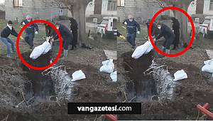 SON DAKİKA! İran'da Kan donduran video – İran'da koronavirüslü olanlar, böyle imha edildi