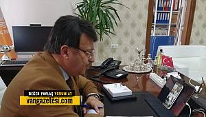 TÜRKMENOĞLU'NDAN, KORONAVİRÜS TOPLANTISI Vanhaber