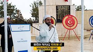 Van'da 18 Mart Şehitleri Anma Günü düzenlendi
