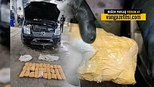 Van'da ihbar üzerine 7 kilo 780 gram metamfetamin ele geçirildi ve 1 tutuklama