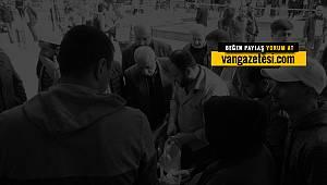 Van'da kadının sesini duyan aktarıcıya saldırdı