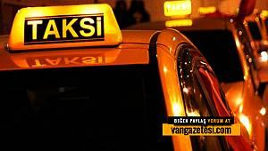 Van'daki taksicilere kısıtlama geldi