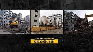 Vanhaber - Van'da 10 bina yıkıldı - Hangi binalar daha yıkılacak? İşte o hüzünlü anlar...