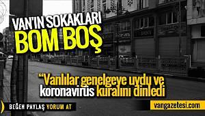 Vanhaber - Van'ın sokakları bomboş
