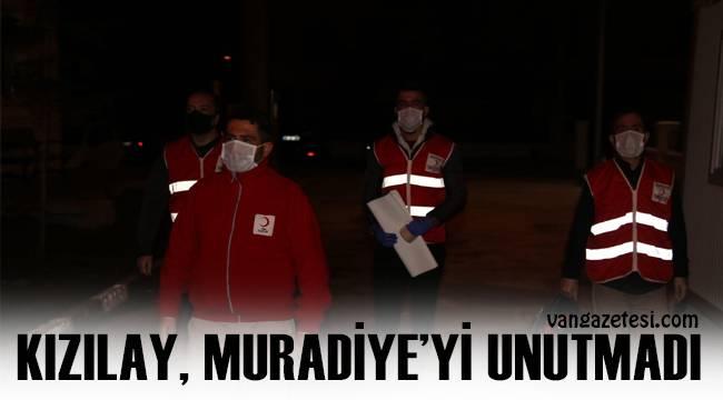 Kızılay, Muradiye'yi unutmadı ve Karanfil dağıttı