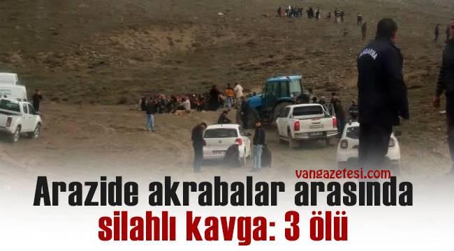 Son dakika! Arazide akrabalar arasında silahlı kavga: 3 ölü – O dehşet anlar böyle yansıdı