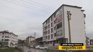 Son dakika Van haber! 5 Katlı bir apartman karantinaya alındı