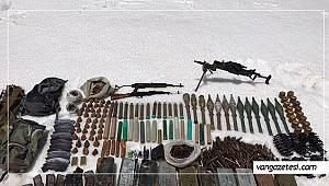 Son dakika Van! Uçaksavar silahı... Van'da böyle operasyon görülmedi ( Videolu Haber)