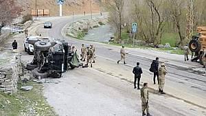 Van'da devrilen askeri araç hakkında flaş detay ortaya çıktı