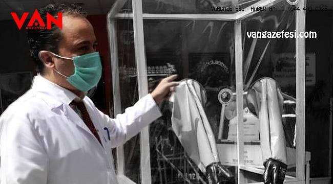 Van'ın başhekimine büyük alkış – Koronavirüs için