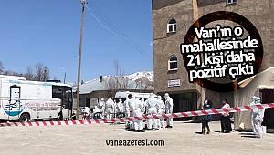 Van'ın o mahallesinde 21 kişi daha pozitif çıktı – (Koronavirüs Testi)