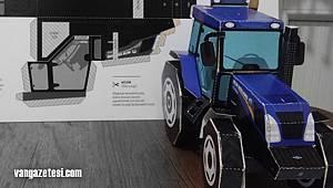 Vanhaber - Van'da bir aile evinde traktör Maketi yaptı