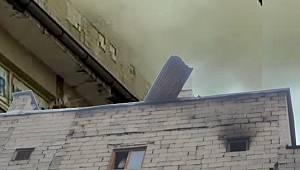 Vanhaber - Van'da kadın Beşinci kattan atladı – O anlar böyle yansıdı