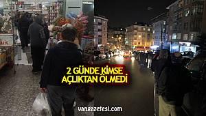 Vanhaber-Van'da sokağa çıkma yasağı ilan edildi ama herkes kuyrukta…