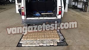 65 plakalı araçta yüklü miktarda eroin çıktı