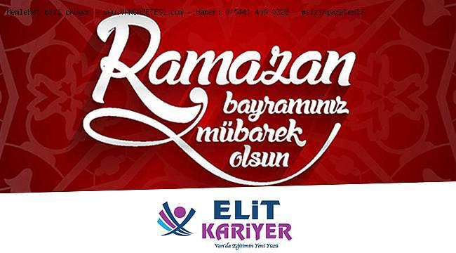 Elit Kariyer'den Ramazan Bayramı mesajı