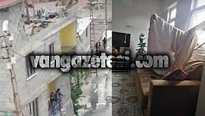Hakkari'de fırtına ve rüzgardan dolayı birçok ev ve iş yerleri hasar gördü